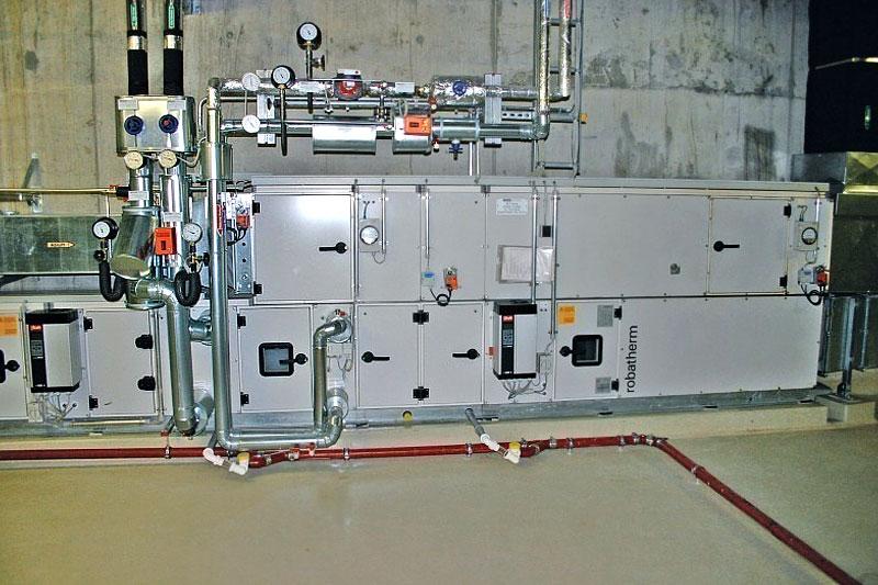 Begutachtung der RLT-Gerätekomponenten hinsichtlich
